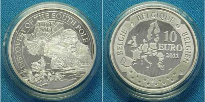 14 декабря 1911 года — экспедиция Амундсена достигла Южного полюса..jpg