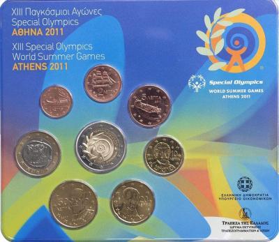 нумизматический набор, содержащий 8 монет регулярного выпуска..jpg