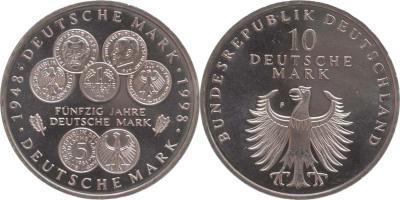 21 июня 1948 года — в ФРГ введена новая валюта — немецкая марка.jpg