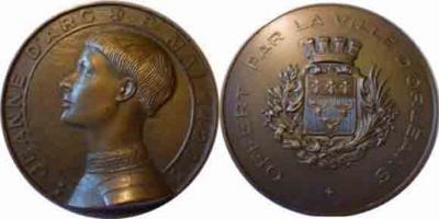 6 января 1412 года родилась — Жанна Д'Арк, национальная героиня Франции (сожжена на костре в 1431...jpg