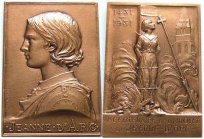 6 января 1412 года родилась — Жанна Д'Арк, национальная героиня Франции (сожжена на костре в 1431..jpg