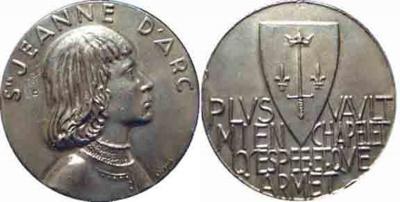 6 января 1412 года родилась — Жанна Д'Арк, национальная героиня Франции (сожжена на костре в 1431.jpg