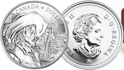 3 июля 1608 года — Самюэль де Шамплен основал  Квебек.jpg