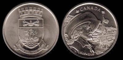 3 июля 1608 года — Самюэль де Шамплен основал форт Квебек.jpg