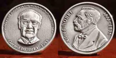 4 июля 1921 года родился —  Жерар Дебрё, американский экономист.jpg