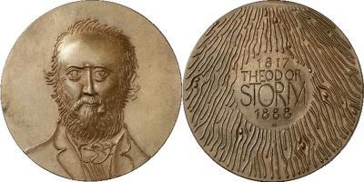 14 сентября 1888 года родился — Теодор Шторм, немецкий прозаик и поэт.jpg