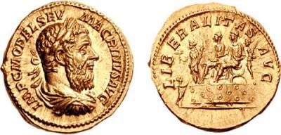 8 июня 218 года умер — Макрин, римский император.jpg