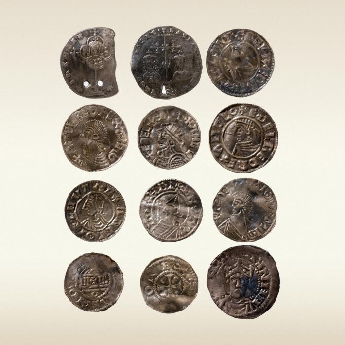 Византийские и западноевропейские монеты из новгородского кл.