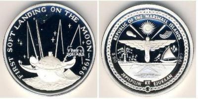 marshall islands_1989_Первая мягкая посадка на Луну. Станция Луна-9.JPG