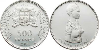 1 августа 1960 года — провозглашена независимость Дагомеи.Девушка племени Оуеме.jpg