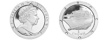 8 января 2004 года — Прошла церемония «крещения» морского суперлайнера «Queen Mary 2.jpg