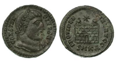 Римская империя, Константин I Великий, 307-337 годы, нуммий.jpg