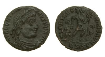 Римская Империя, Валентиниан I, 364-375 годы, центенионалий.jpg