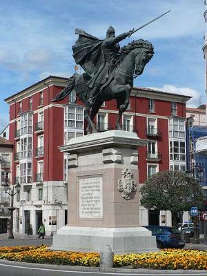 Бургос. Памятник Сиду.jpg