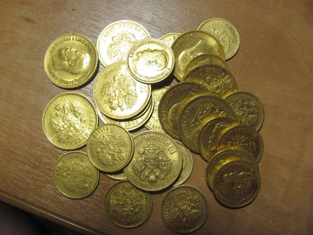 Большая подборка кладов золотых монет :: находки кладов.