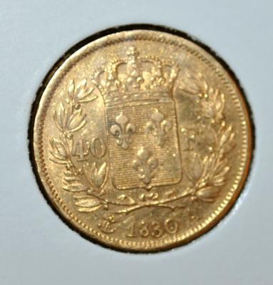 Карл Х 1830 40 франков.JPG