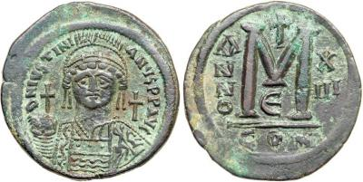 Юстиниан Великий. Фоллис..jpg