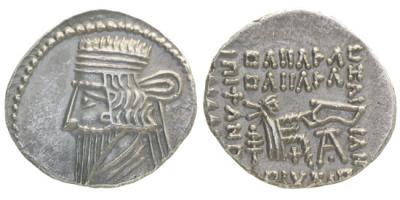 Парфянское царство, Волагез III, 105-147 годы, драхма.jpg