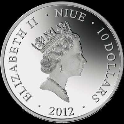 Ниуэ 2012 10$ Тайная вечеря 5 унций серебро..jpg
