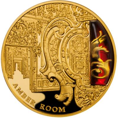 100 $ AMBER ROOM BERNSTEINZIMMER MYSTERIES OF HISTORY NIUE ISLAND 2012.jpg