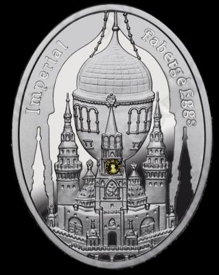 NIUE ISLAND 2012 1$ яйцо Фаберже кремль.JPG