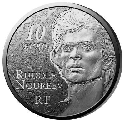17 марта 1938 года родился - Рудольф Нуриев (10 euros 2013).jpg