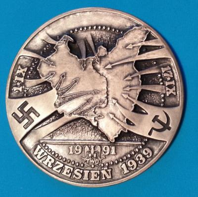 1939 Molotov-Ribbentrop pact,Stalin Communist regime Big Shame Historical medal-a.jpg