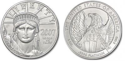 Американский платиновый орел 2007.jpg