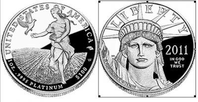 Американский платиновый орел 2011.jpg