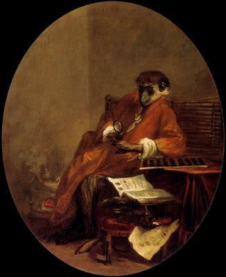 _ 000-1Jean-Baptiste-Siméon Chardin, Le singe antiquaire.jpg