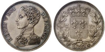 ФРАНЦИЯ 8.Henri V, Herzog von Bordeaux, Prätendent .jpg
