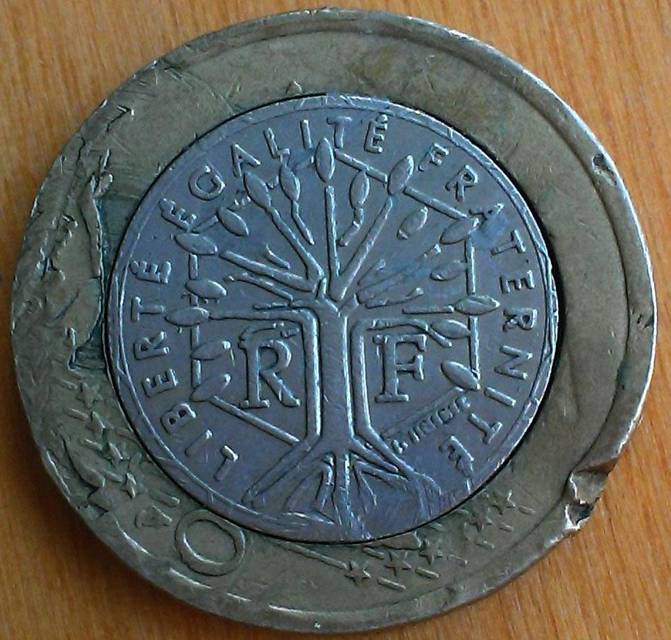 Браки монет евро регулярный выпуск 1961 1991