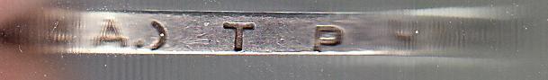 Один полтинник 1924 г. Между буквами «Т» и «Р» и после буквы «З» нет точек