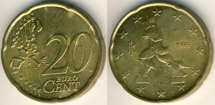 20 евроцентов в рублях 2018 сколько 142