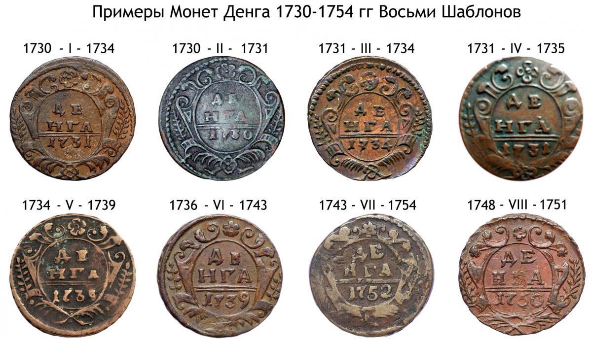 Денга 1754 года стоимость одной монеты 1 лата лосось стоимость