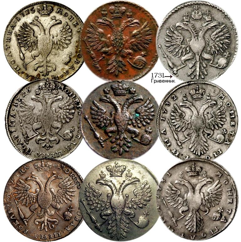 Самые первые монеты россии монеты царской россии 4pda