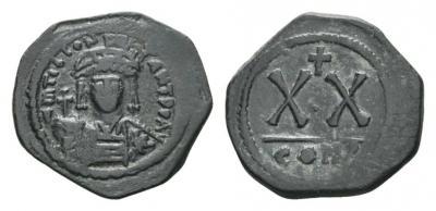 0717 2014 Полуфоллис Маврикий Тиберий с Коинсархива.jpg