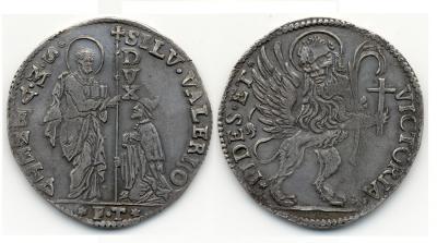 Silvestro Valier 1694-1700, Dav. 4287 Molto Raro, spl+.jpg