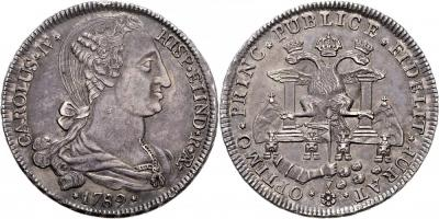 Bolivien Carlos IV. 1788-1808. Peso 1789 Potosi1.jpg