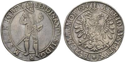 1624 Чехия (в составе СРИ), Фердинанд 2, талер (Куттенберг).jpg