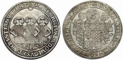 Peter overstrike 1657 taler.jpg