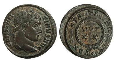 0207 2015 Римская империя, Константин I Великий, 307-337 годы, нуммий.jpg
