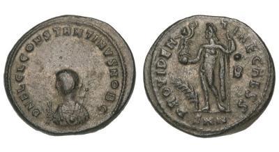 0207 2015 Римская империя, Константин II, 317 – 340 годы, нуммий.jpg