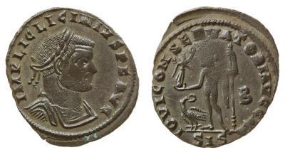 0207 2015 Римская империя, Лициний I, 308-324 годы, нуммий 2.jpg