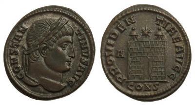 0207 2015 119 Римская империя, Константин I Великий, 307-337 годы, нуммий.jpg