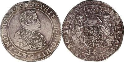 Spanien Niederlande 1 Ducaton Philippe IV - Anvers 1661.jpg