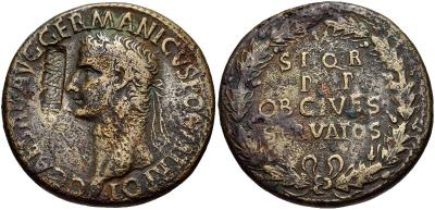 0637 037г Рим, Калигула, сестерций.jpg