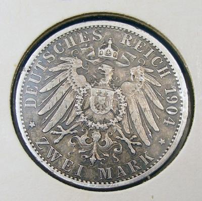 Пруссия 2 марки 1904 г  (2).JPG