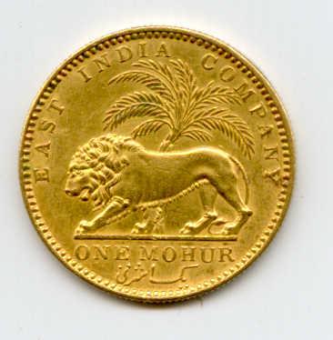British India 1841, Gold Mohur, Victoria.jpg