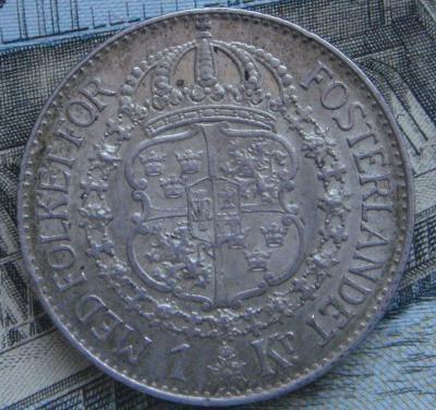 Швеция 1 крона 1934 (3).JPG
